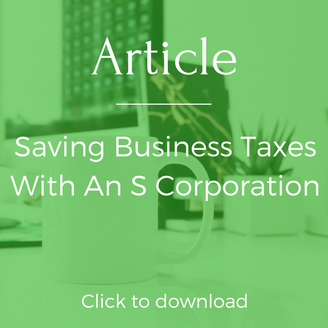 Business Taxes and S Corporations