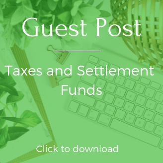 Taxes and settlements